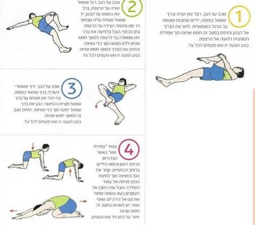 אימון כושר אישי - תרגילי תנועה ומתיחות לגב