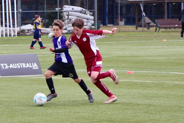 אימון כושר לילדים - משחק כדורגל