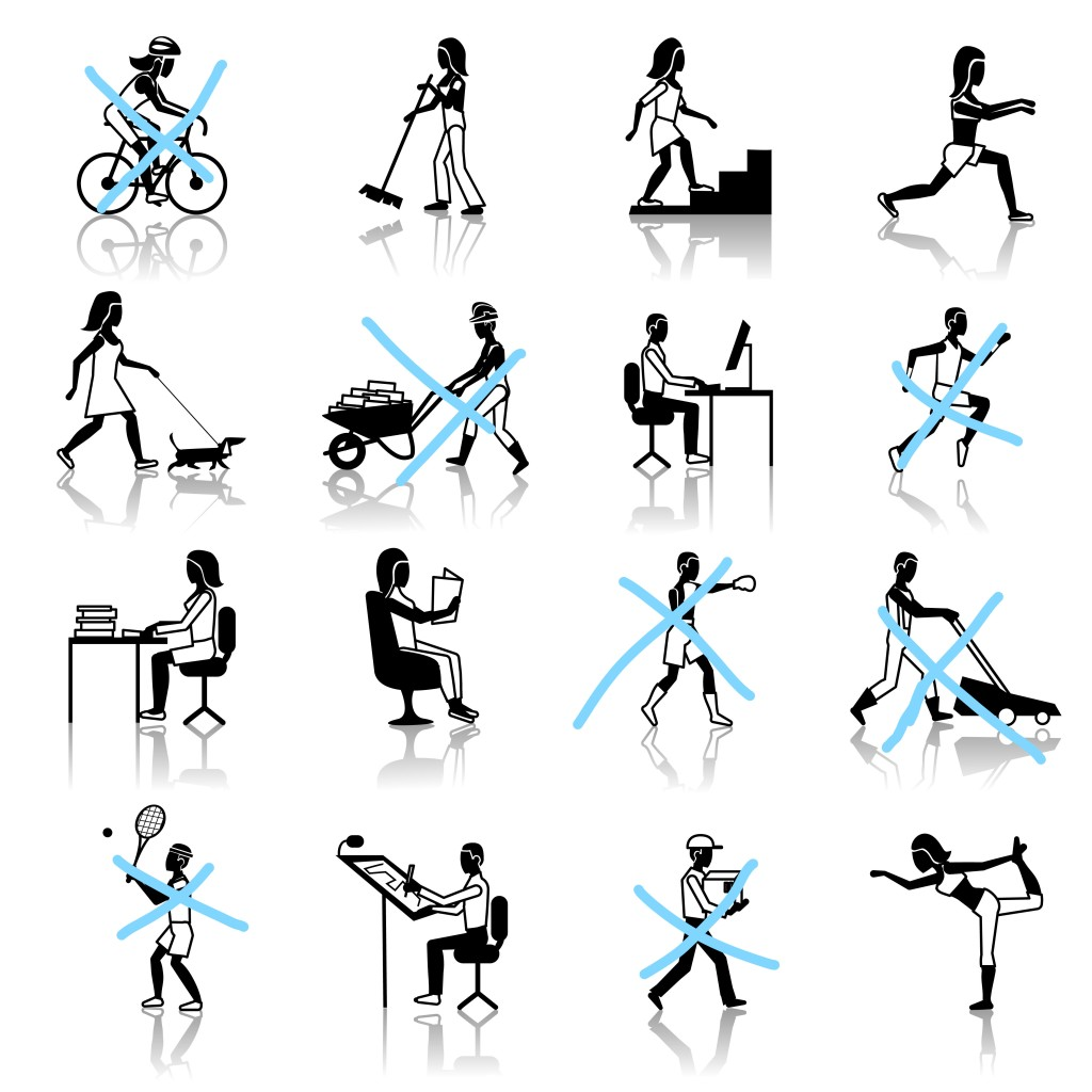 סוגי פעילות גופנית